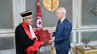 Photo of رئيس محكمة التعقيب يقدم تقرير المحكمة السنوي لرئيس الجمهورية
