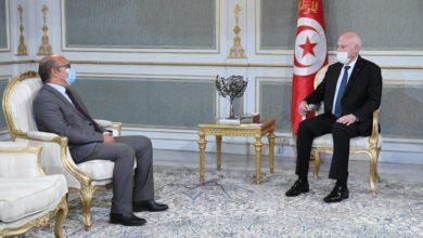Photo of قيس سعيد يستقبال رئيس المجلس الأعلى للقضاء